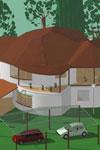 Работы студентов учебного центра Успех Киев по курсу архитектурного   проектирования в Архикад и визуализация в Артлантис