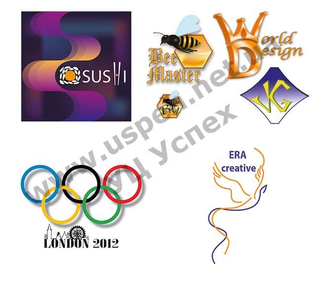 Работы выпускников по курсу дизайнер компьютерной графики в Киеве. Логотип