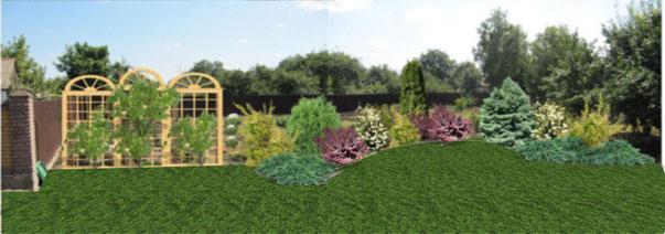 Фотовизуализация, выполненная в программе Real Time Landscaping Architect